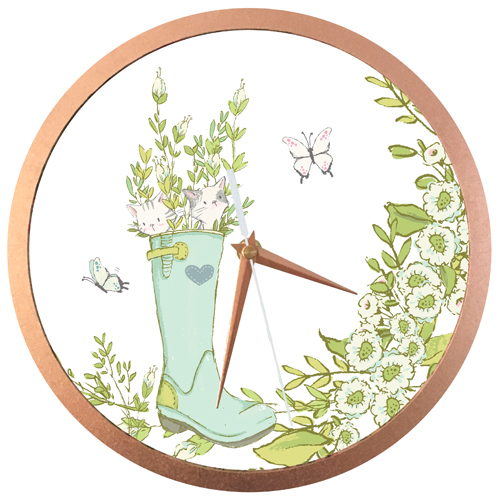 Little Greenhouse Wall Clock