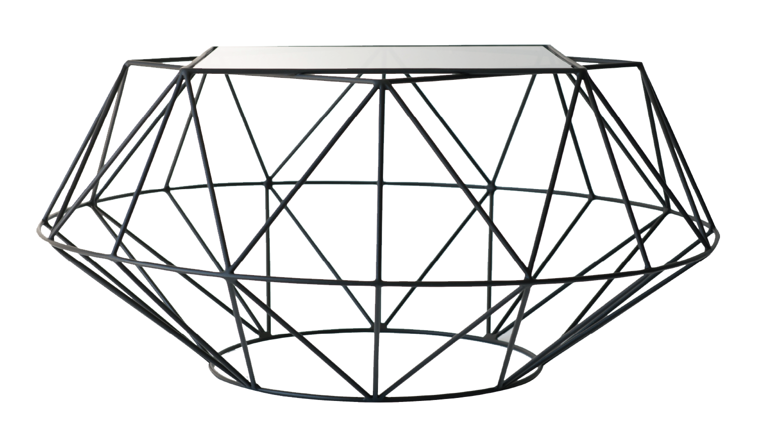 Inspired as part of our Geometric Facet range, this modern coffee table sets a standard for style that appeals to various tastes and interiors. Available in two sizes.
