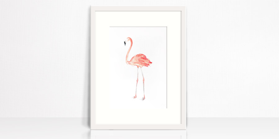 Flabulous Flamingo Original