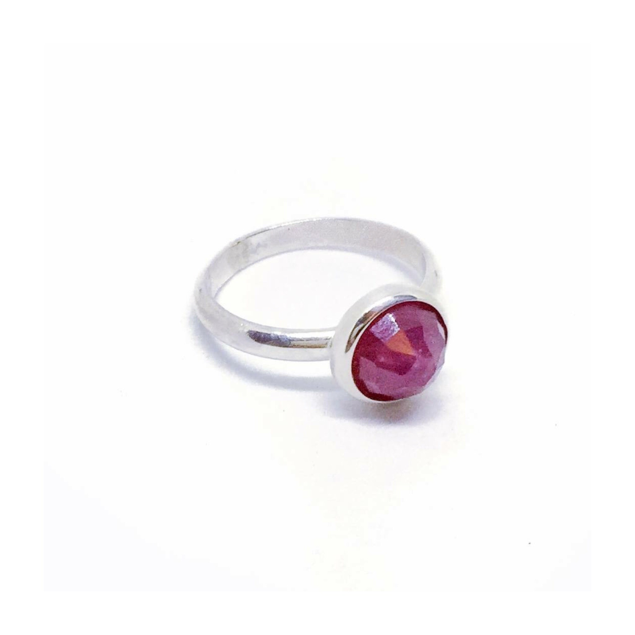Ali African Ruby Ring