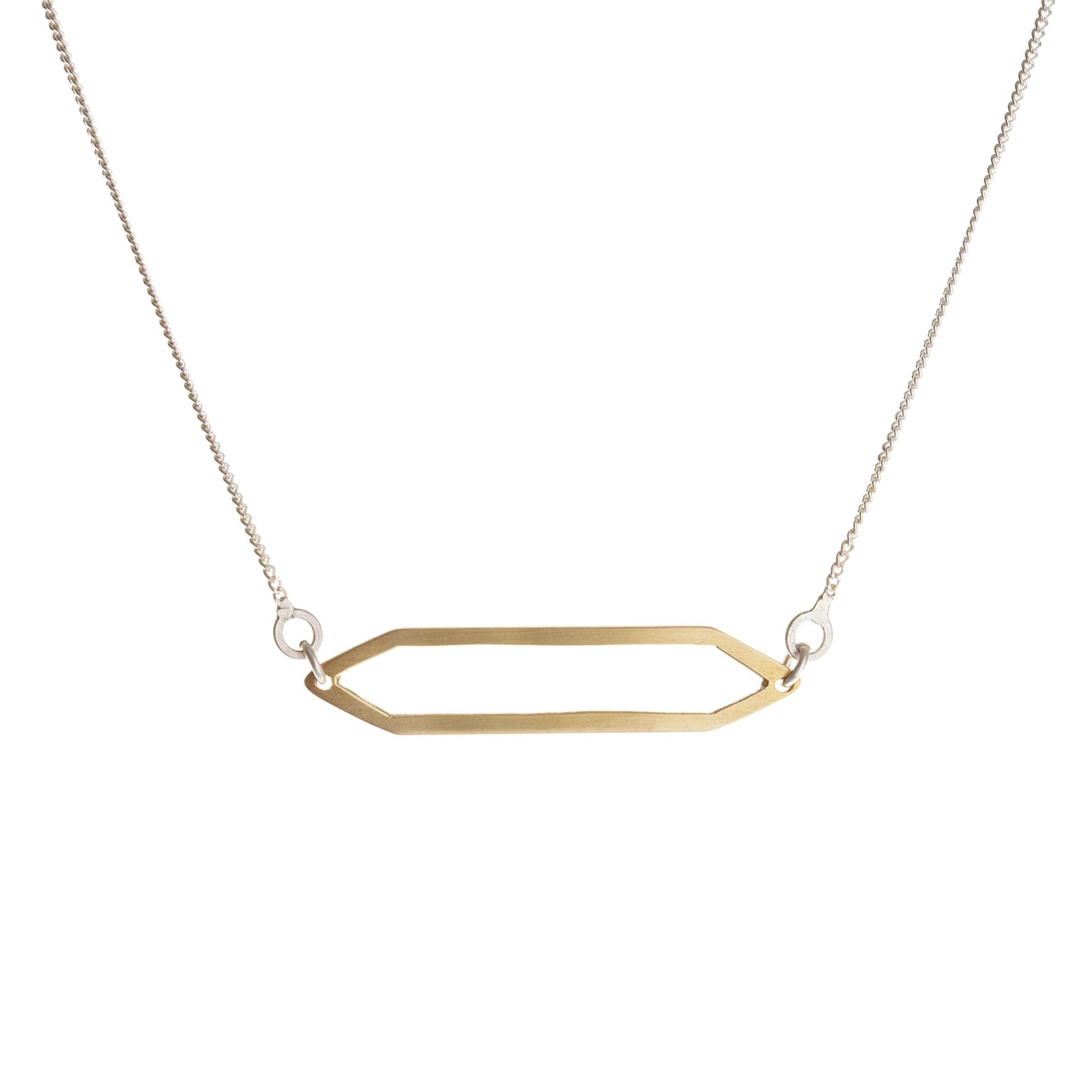 Flattened prism pendant