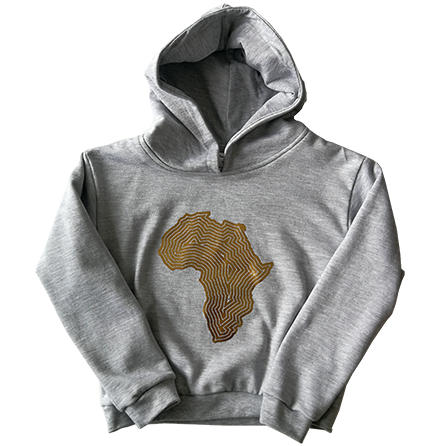 Africa hoodie (click for colours)