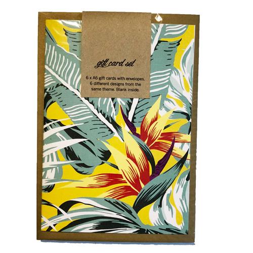 Retro Tropics Gift Card Set