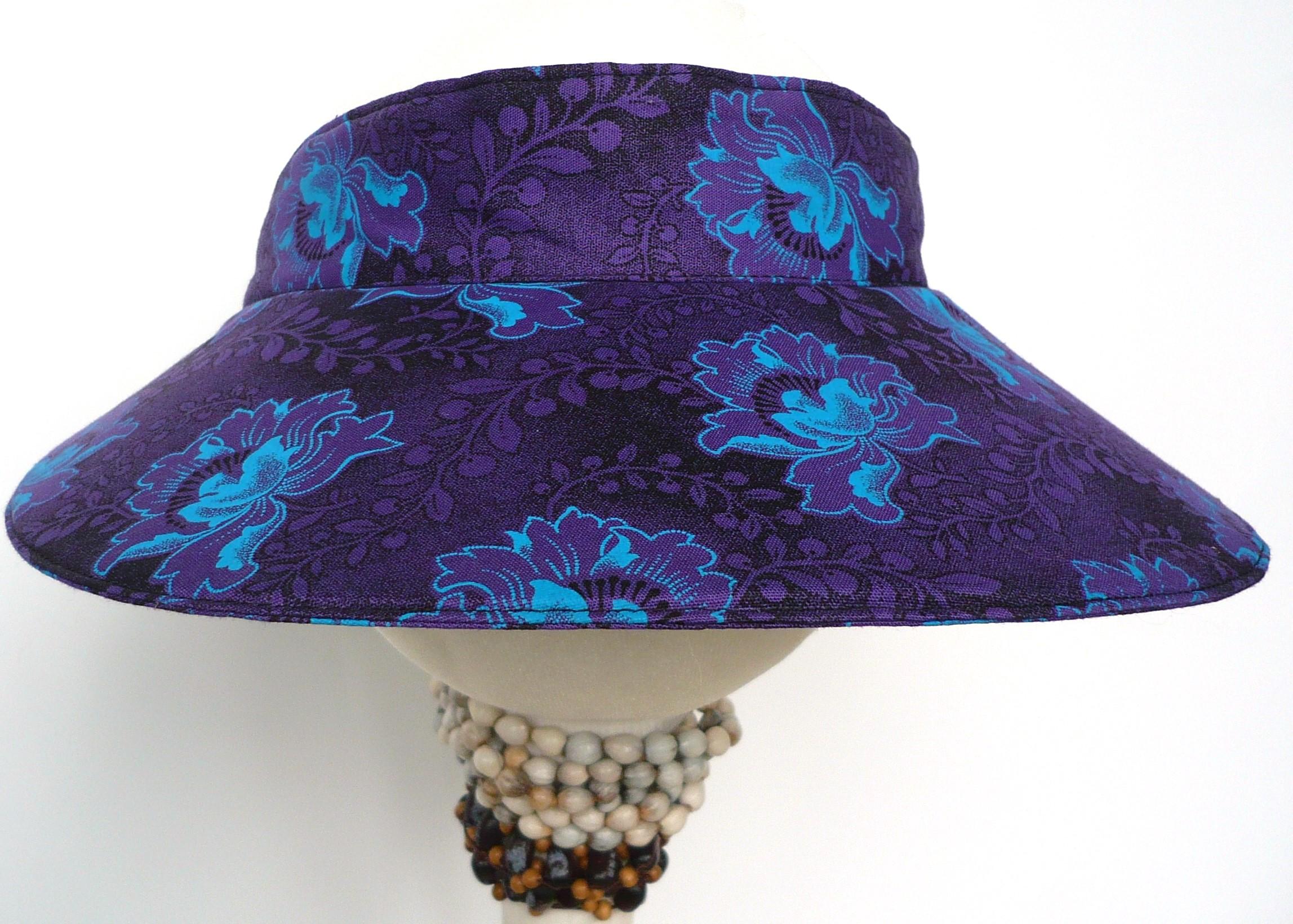 Shweshwe Purple/Turqoise/Black 07 Large