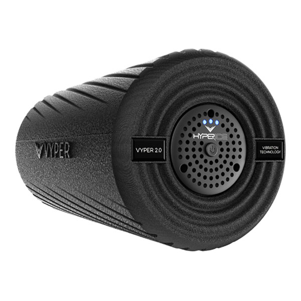 The VYPER 2.0 is the next generation of the world's most powerful vibrating fitness roller. The award winning VYPER 2.0 features 3 speeds of high-intensity vibration and a dual-zone smooth and grooved German engineered exterior. The VYPER 2.0 allows you to warm up, activate and recover faster and more effectively than any other roller. Used daily by the world's best athletes.  > Optimal self myofascial release tool to increase flexibility, circulation, and reduce muscle soreness > Three vibration settings transmit superior amplitude and vibration for physiological benefits > Hyperice's vibration technology combined with our battle tested shell penetrates deeper for muscle activation > 2x more effective than regular foam rolling to warm up and actively recover > Increase range of motion by up to 40% (versus 18% increase with regular foam rolling) > Rechargeable lithium-ion batteries give over two hours of use per charge  Technology specifications and features > Three Vibration frequency levels: 45, 68, 92 HZ > Most powerful vibrating roller on the market, maintains its superior amplitude and G-force even when body mass is applied. (6.9, 7.8, and 8.8 G-Force) > Dual-zoned exterior shell: smoothed and grooved exterior design for a more customized roll > All digital circuitry controls 3 high-intensity vibrating speed settings > Eco-friendly, poly-propylene outer shell transfers maximum vibration > Rechargeable lithium-ion batteries give over 2 hours of use per charge > Travel-friendly, TSA approved as carry-on > 1 year warranty included (See Customer Support for warranty details)  Physiological benefits behind our vibration > Loosen and lengthen muscles to increase flexibility > Increase circulation- ideal for warming up the body before physical activity > Reduce muscle soreness and stiffness for better recovery > Significant reduction in pain associated with myofascial release  Watch instructional video  Learn more here