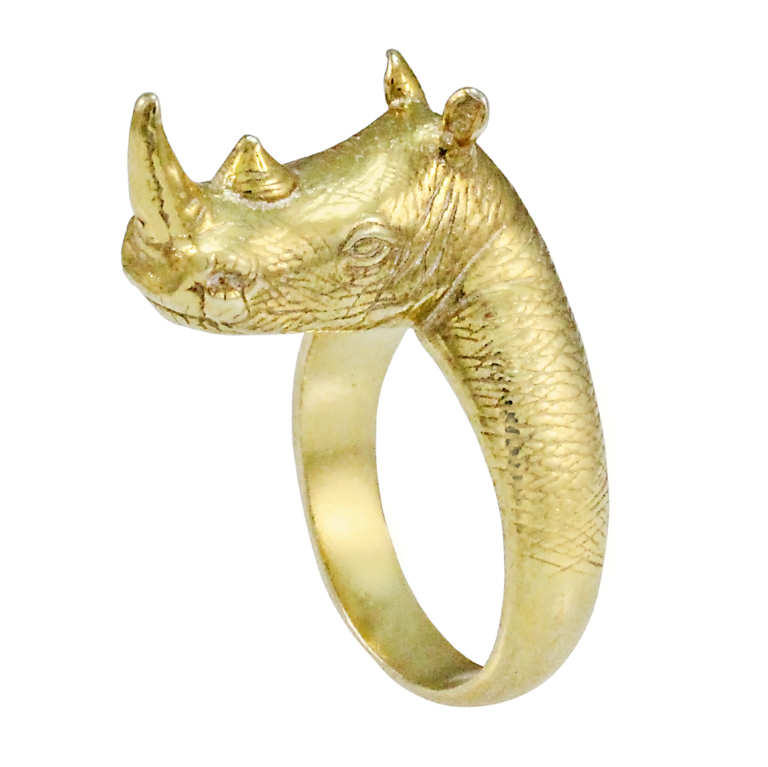 9ct Yellow Gold Matimba Ring