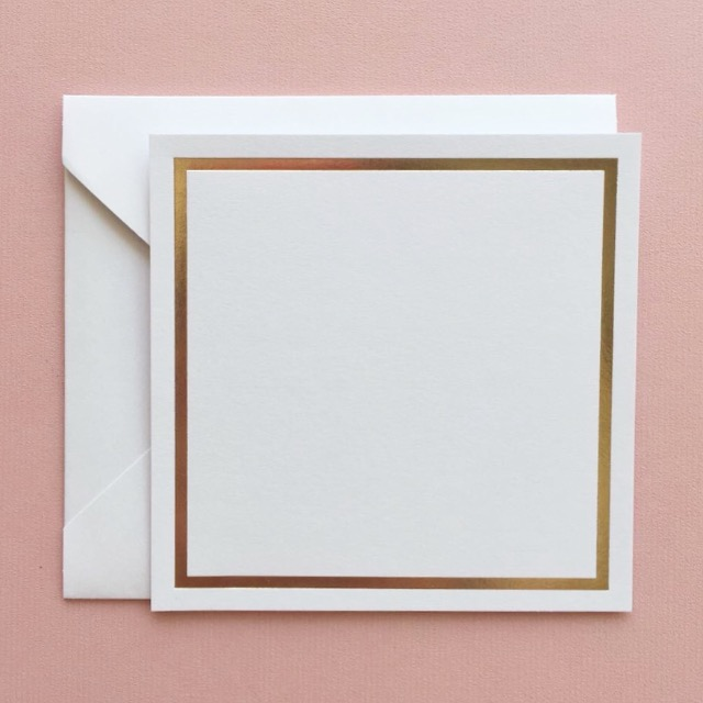 Minimalist Notecards: White