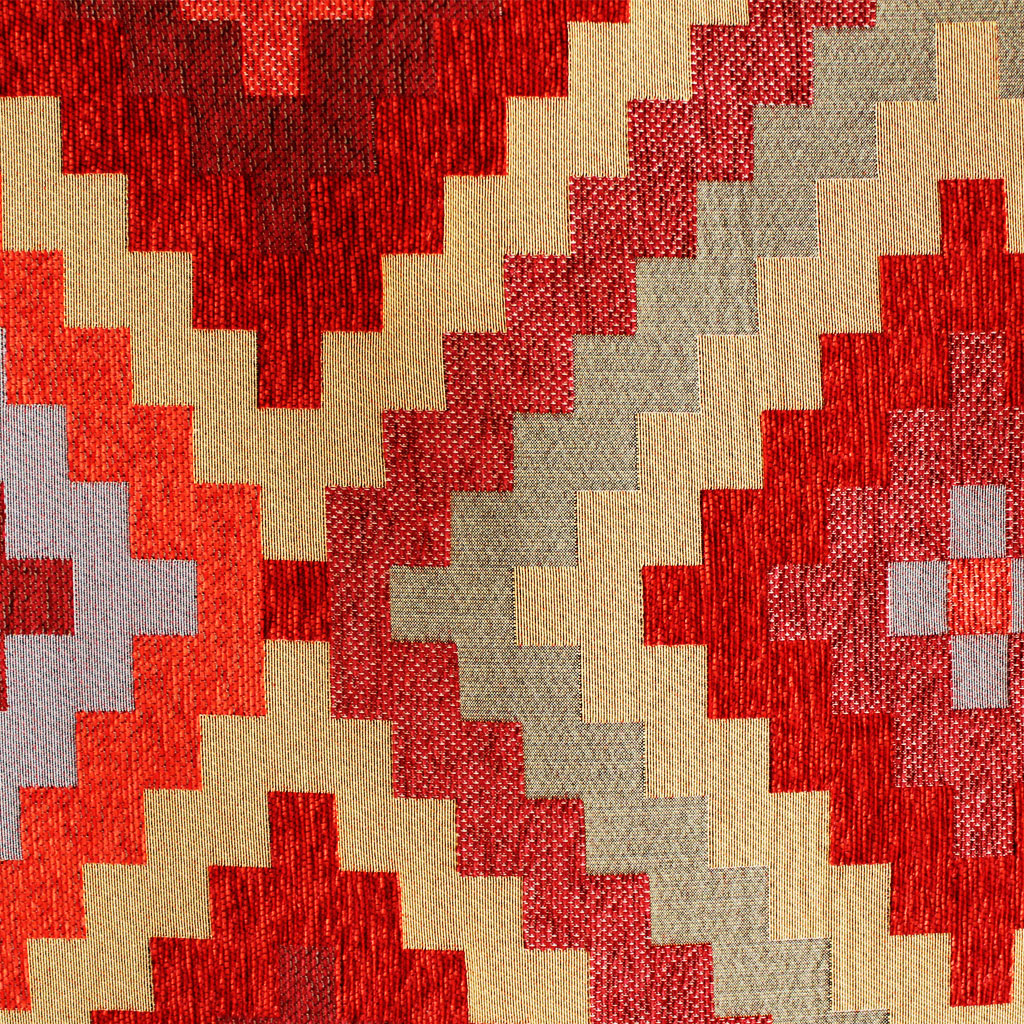 Made in South Africa from 100% polyester, the African Doges runner comes complete with an anti-slip polyester and rubber dot backing.  The runner is UV resistant and mildew resistant, as well as being superior to other synthetic rugs thanks to polyester's insulating properties in the presence of dampness. The flat weave not only discourages pets from digging claws and paws into the rug as is prone to happen with rugs that have a pile height, but is also very easy to maintain and clean when it comes to pet stains and dirt.