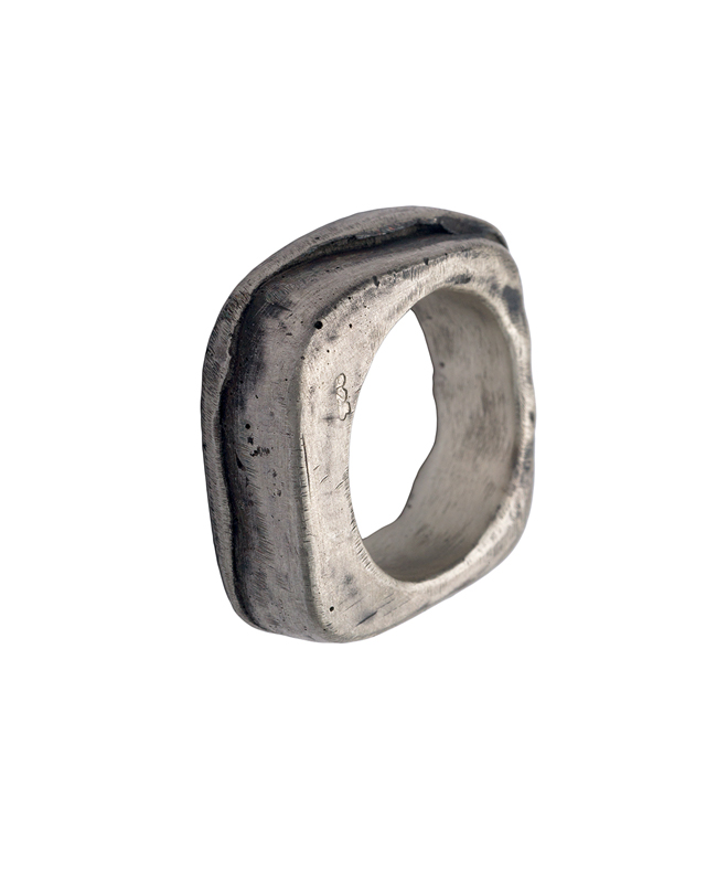 SQUARE MEN'S / LADY'S  RING