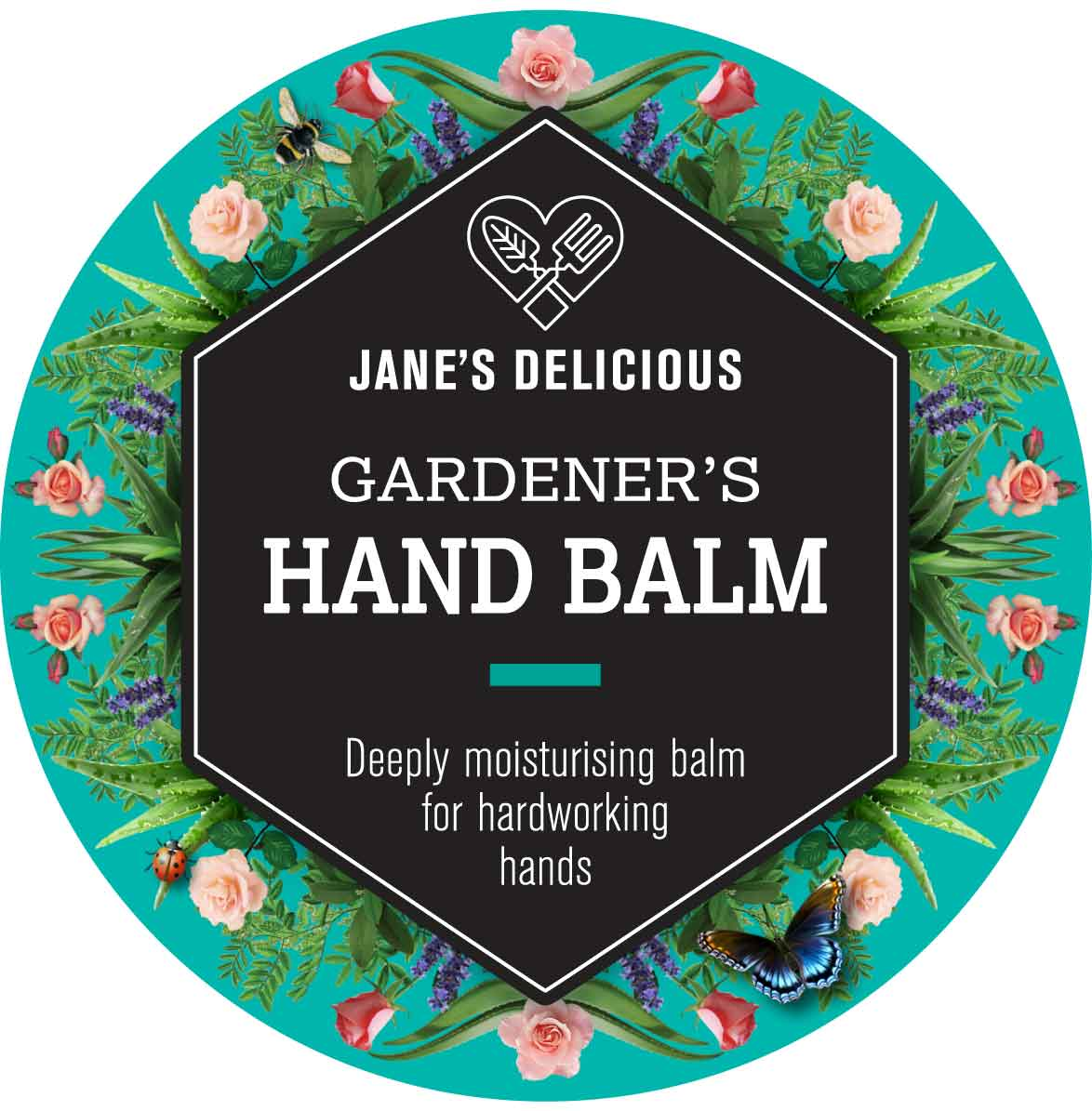 A deeply moisturising balm for hard working hands.