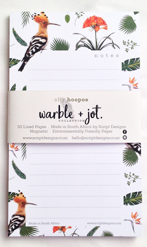 Bloc Notepad of 50 sheets