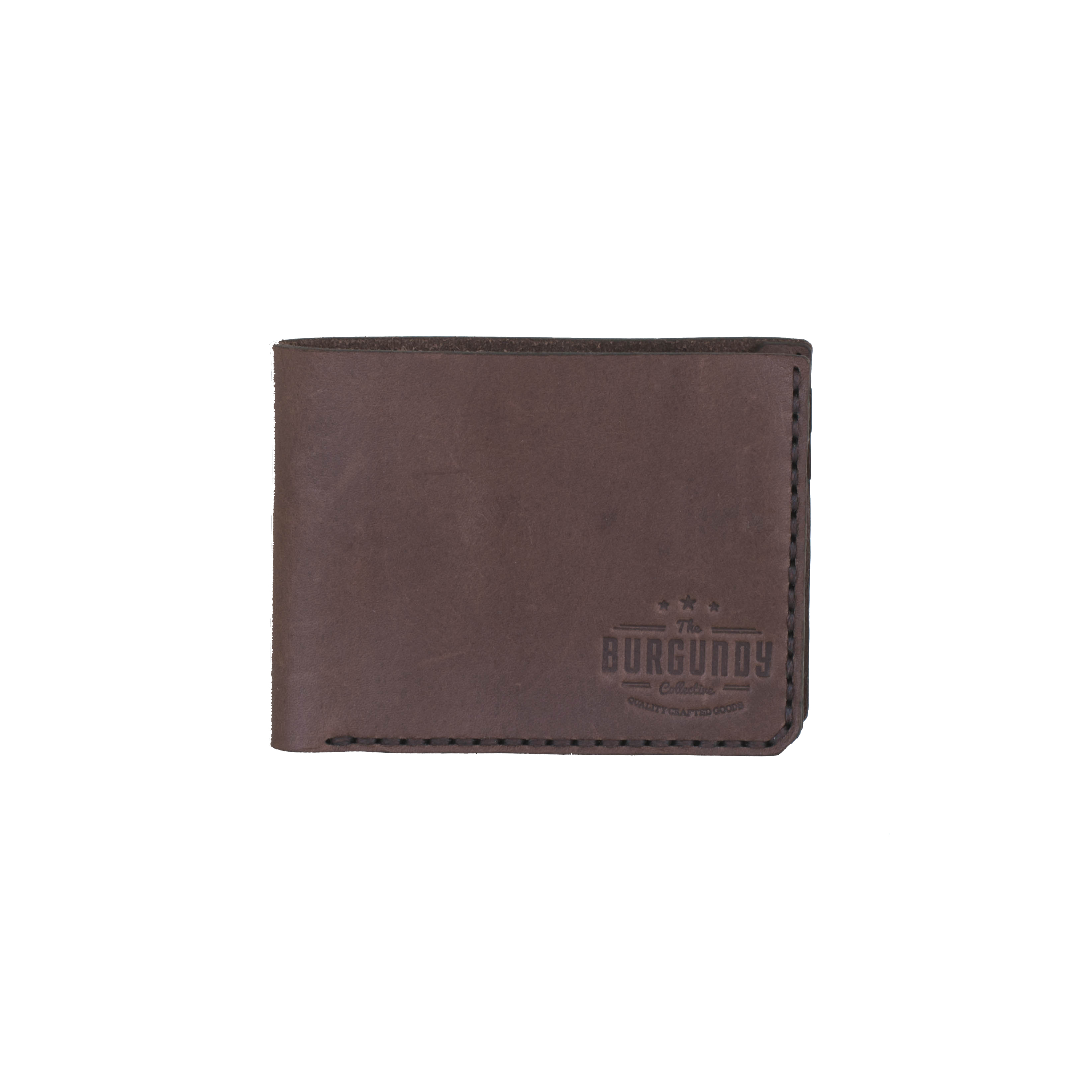 The Bi-fold wallet is your perfect small accessory, designed to fit cards and notes. This wallet looks and functions as a classic wallet should and comfortably fits in the front or back pocket. The Bifold is worn effortlessly and with style.    FEATURES:   Crafted from premium vegetable tanned leather 6 slots for cards 1 main compartment for cash and slips     DIMENSIONS:  H 8,5cm x W 10,5cm