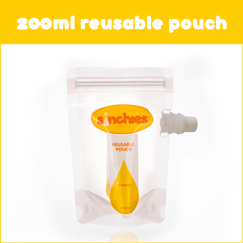 Sinchies 200ml Reusable Pouches