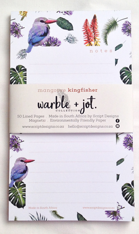Mangrove Kingfisher Bloc Notepad
