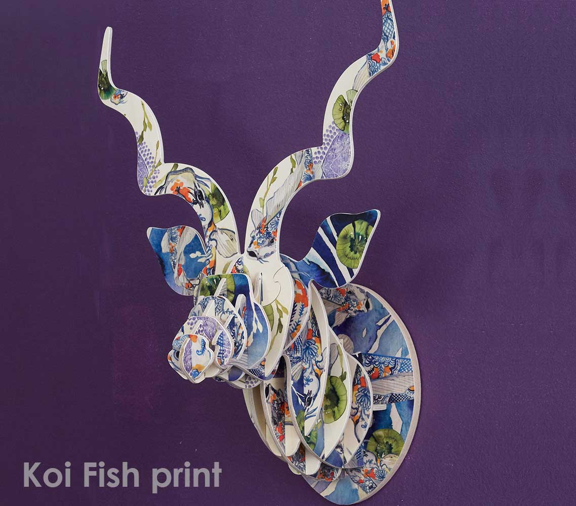 KUDU with Artist Print - Koi Fish