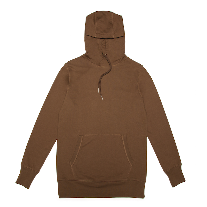 A classic pullover hoody cut from a 60% cotton/40% polyester brushed fleece. Finished with a kangaroo pouch, ribbed cuffs and hem.