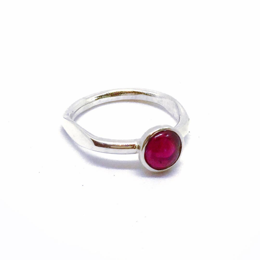 Bella Garnet Ring