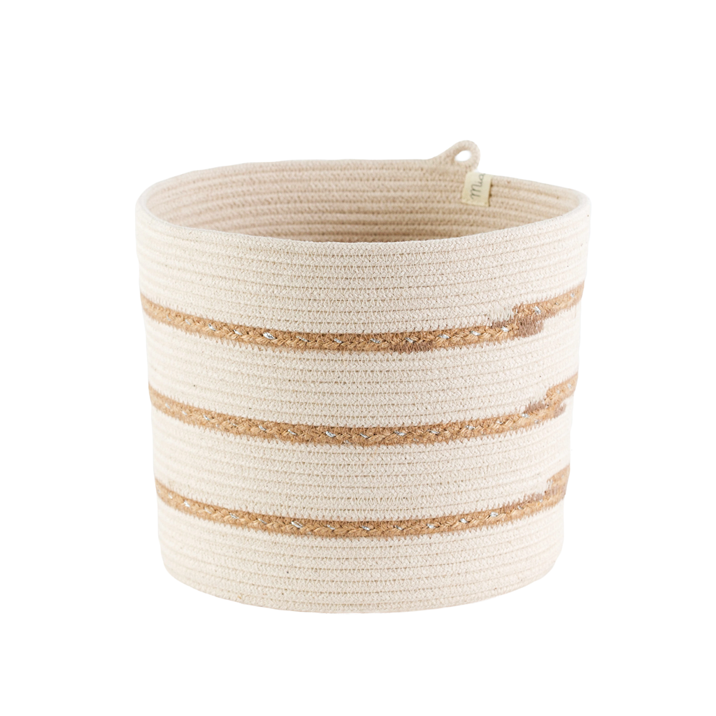 This awesome basket is great for holding kitchen utensils, hand towels, bathroom accessories, baby products, miscellaneous collections or pretty much anything else your heart desires! 
