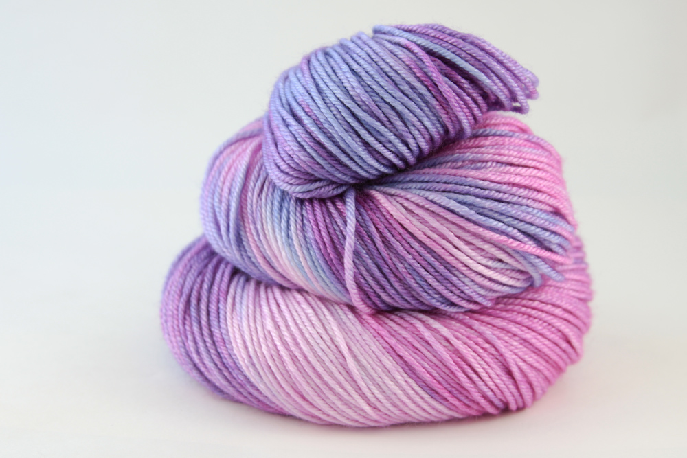 Colour - variegated plum, lilac, amethyst, tanzanite, pink