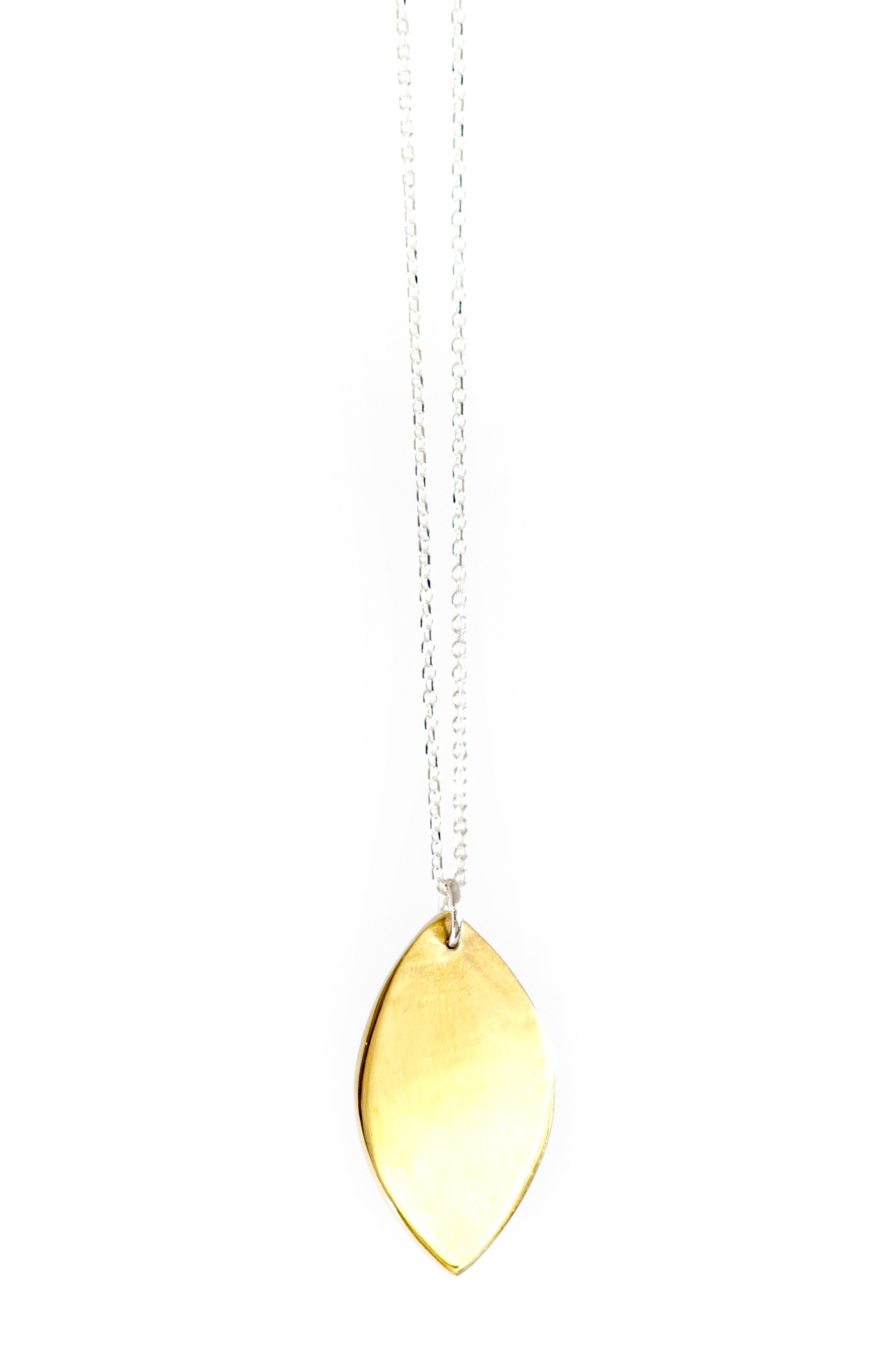 Closed Drawing Pendant Brass