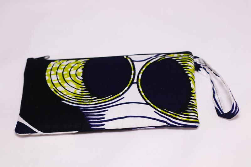 "The beautiful Ikamva mini clutch is perfect for those days when you don't want any ""baggage"" ;)"