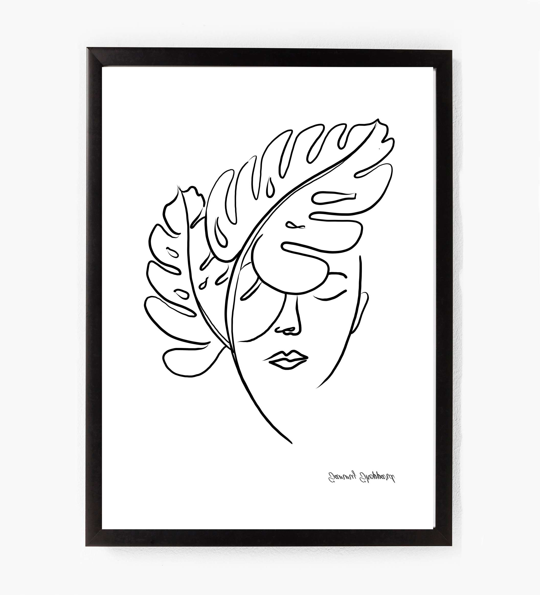 Own this beautiful hand illustrated print by Sammy Sheppard  Available in A4 or A3  To fit in a standard A4 or A3 frame