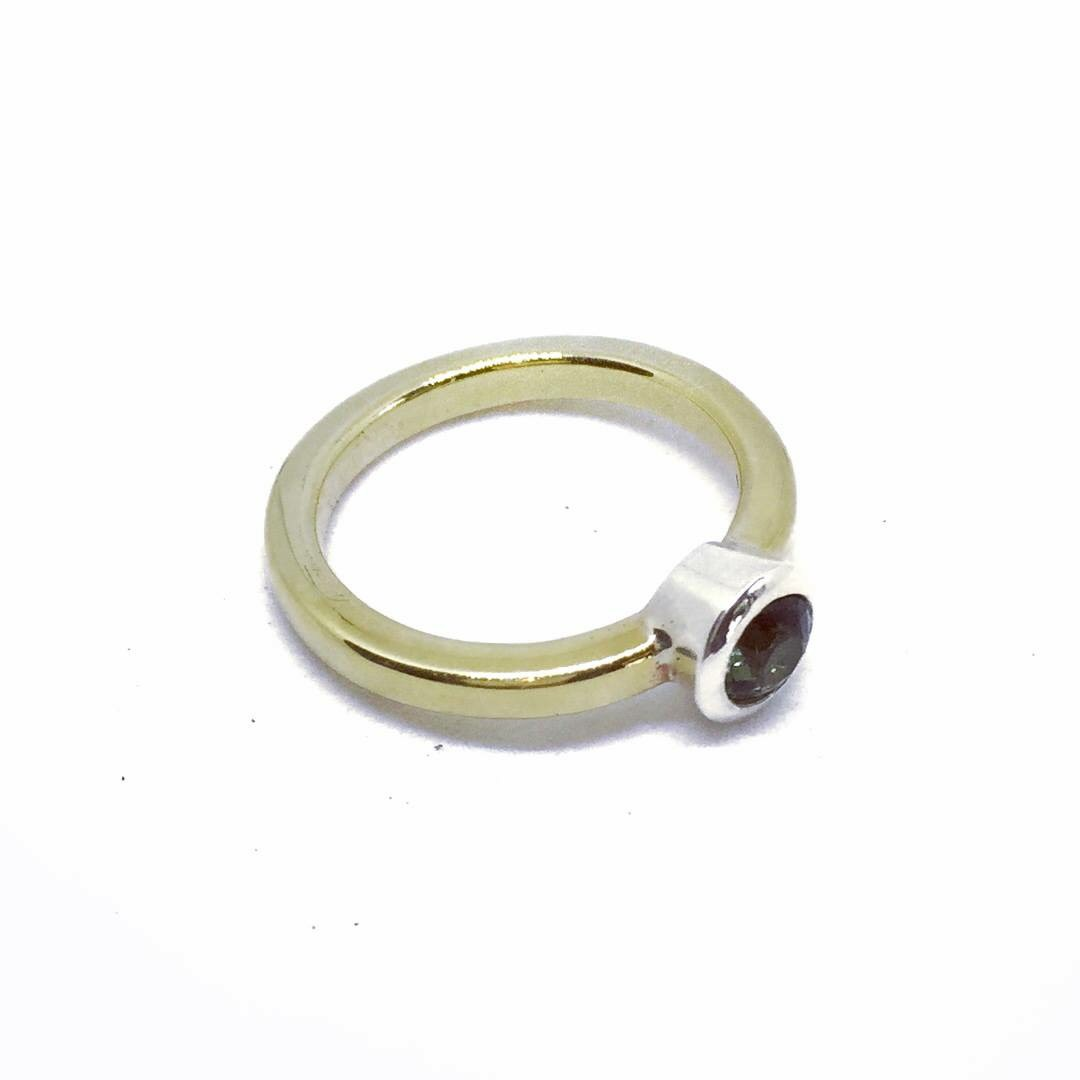 Our Lise ring is available to order with any gemstone of choice.