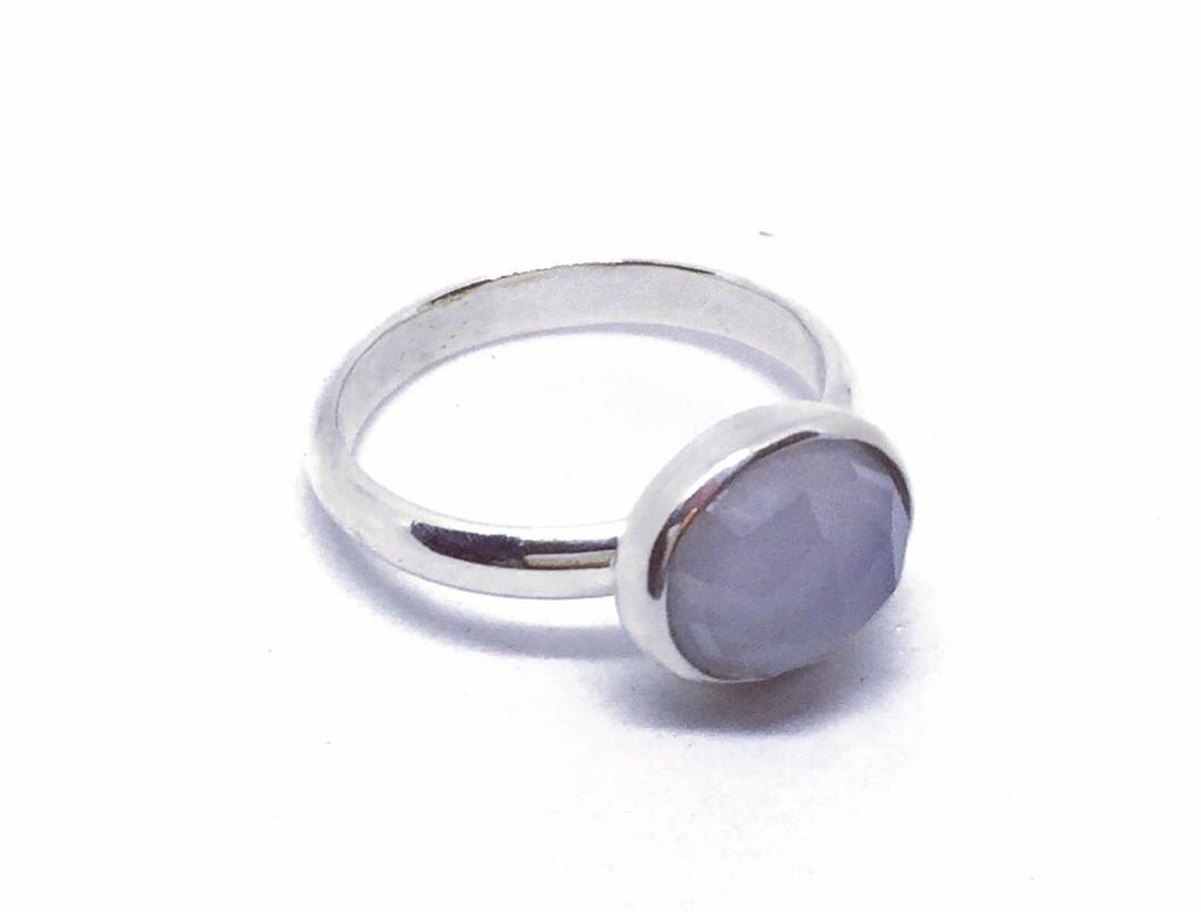 Chrisna Chalcedony Ring