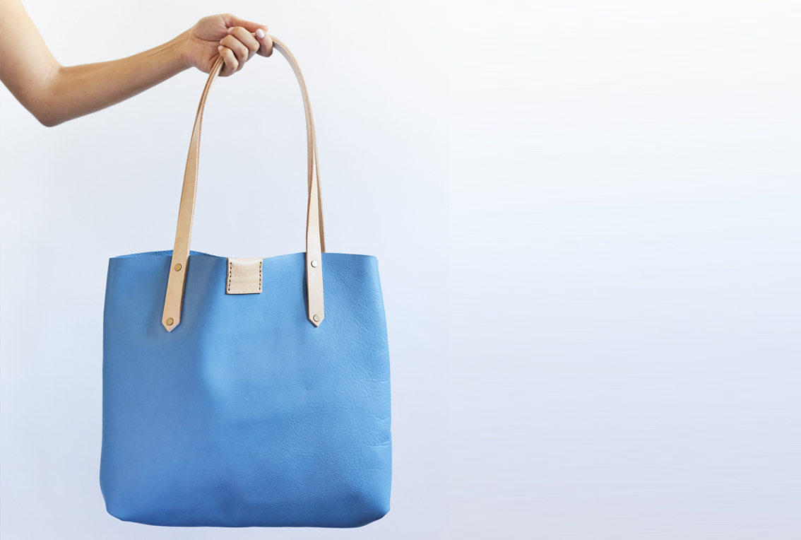 Soft Tote bag - sky