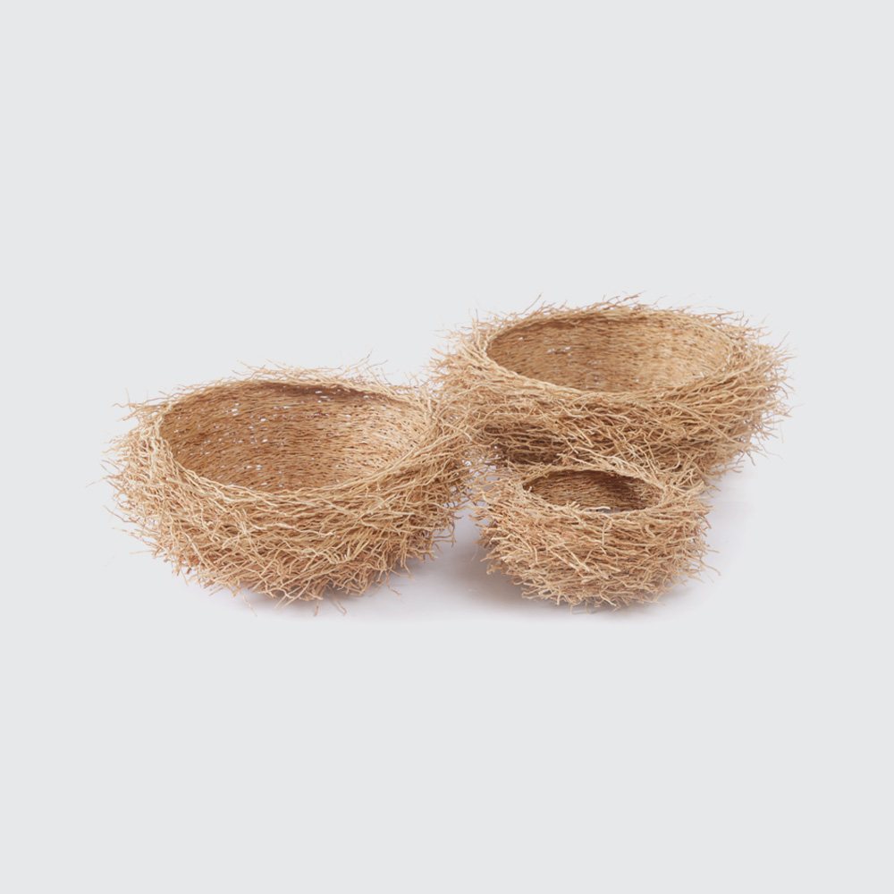 These quirky bowls are weaved from the roots of sustainably sourced Vetiver plants, which have the added intrigue of giving off a very pleasant, natural lemony aroma! Functional or ornamental, if you're looking for an extra-interesting African keepsake, here it is.