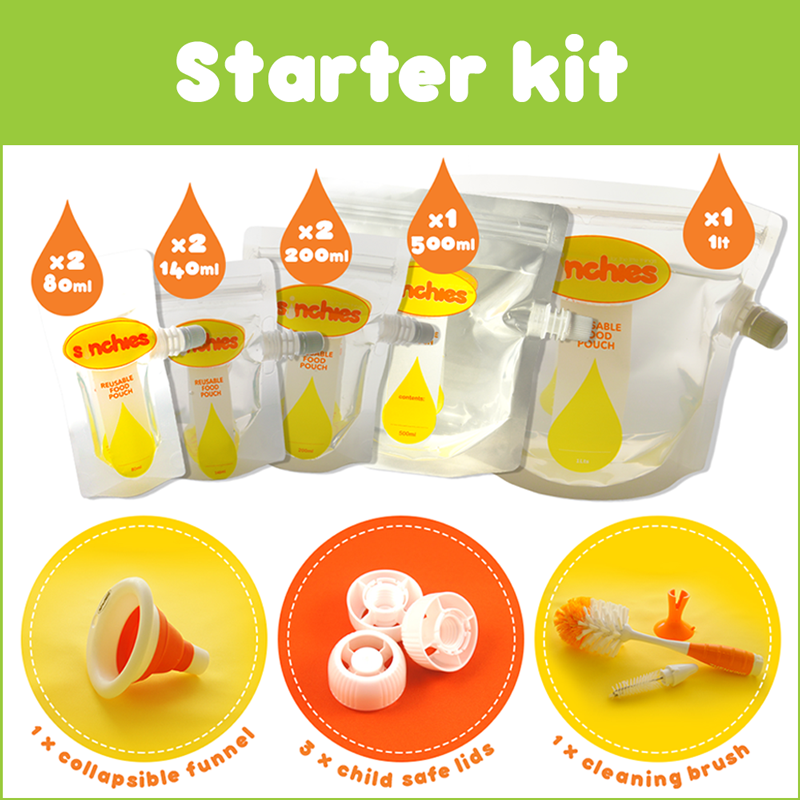 This great Sinchies starter kit contains the following: