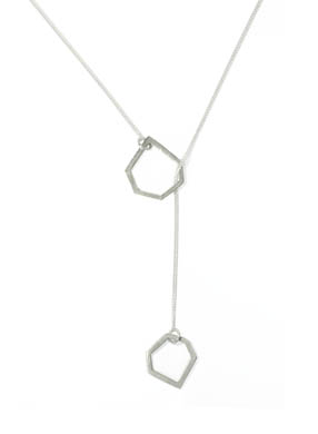 Open Geo necklace