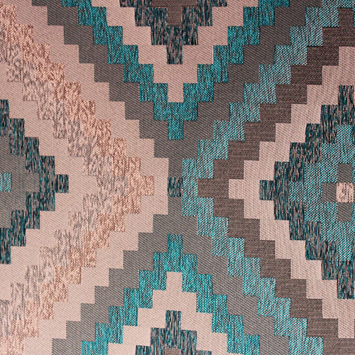 African Doges Turquoise runner