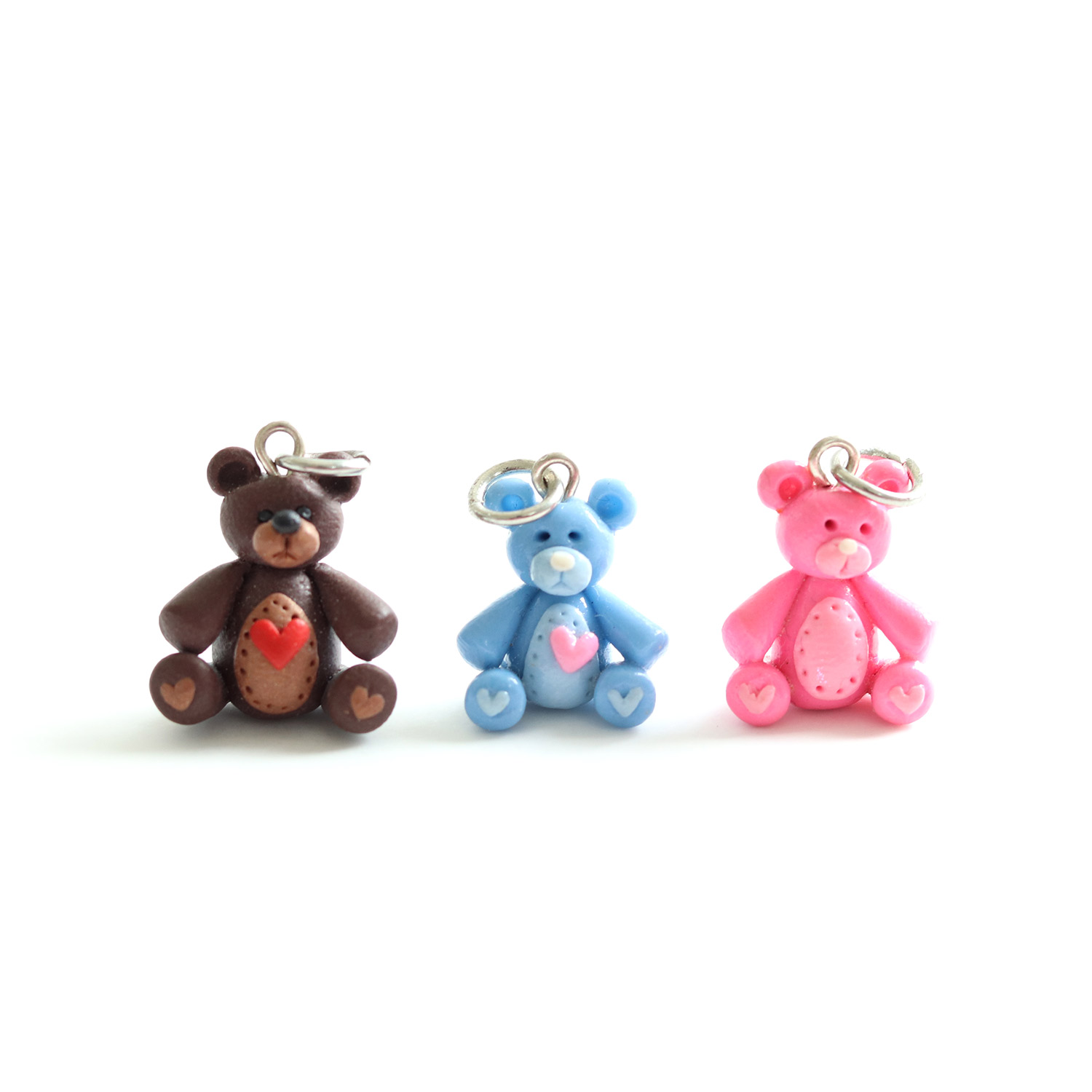 Teddy Charm/Necklace