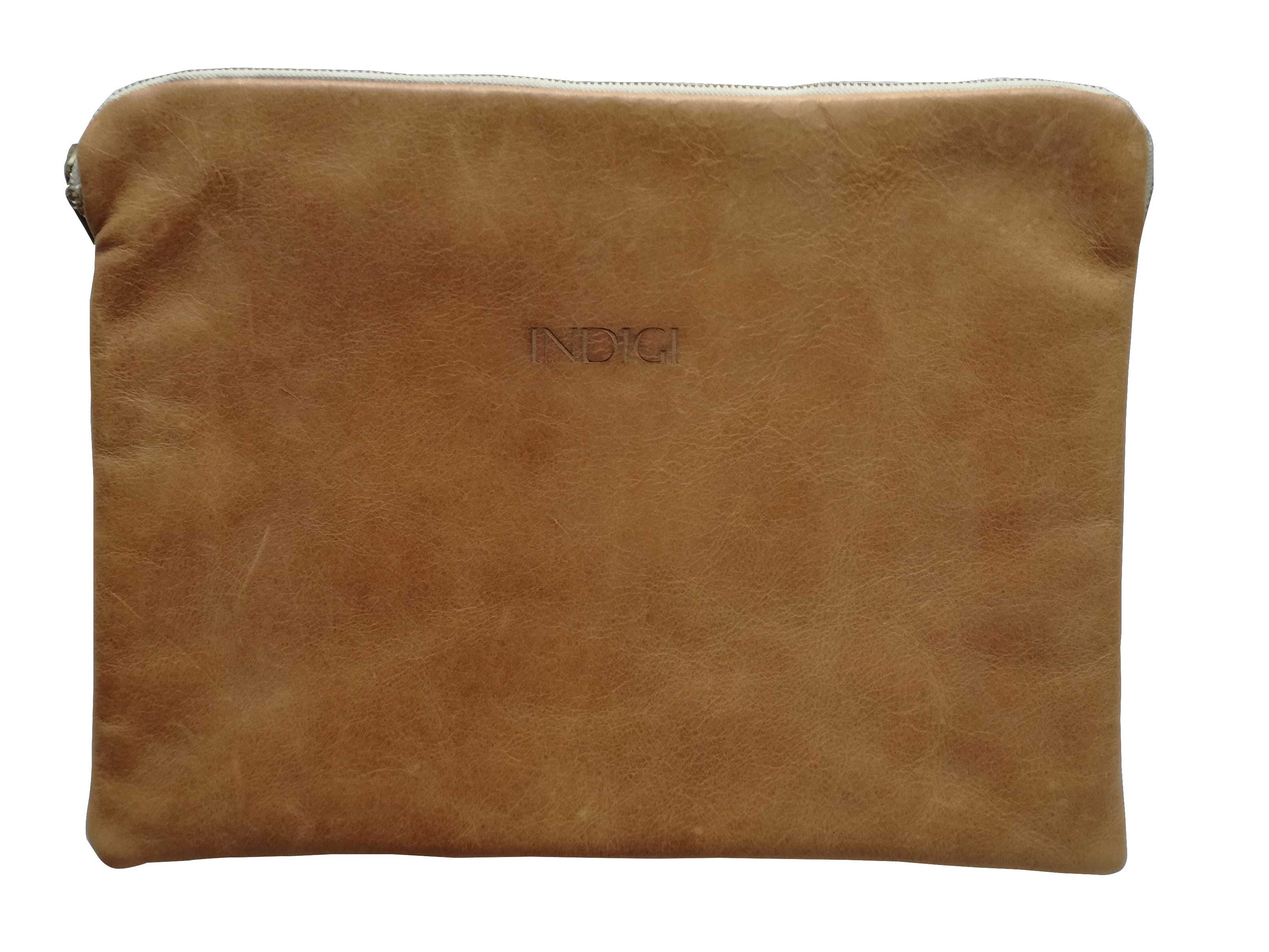 "Laptop Pouch 13"" Leather - View All"