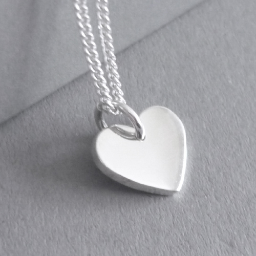 Tiny Heart Pendant on Chain