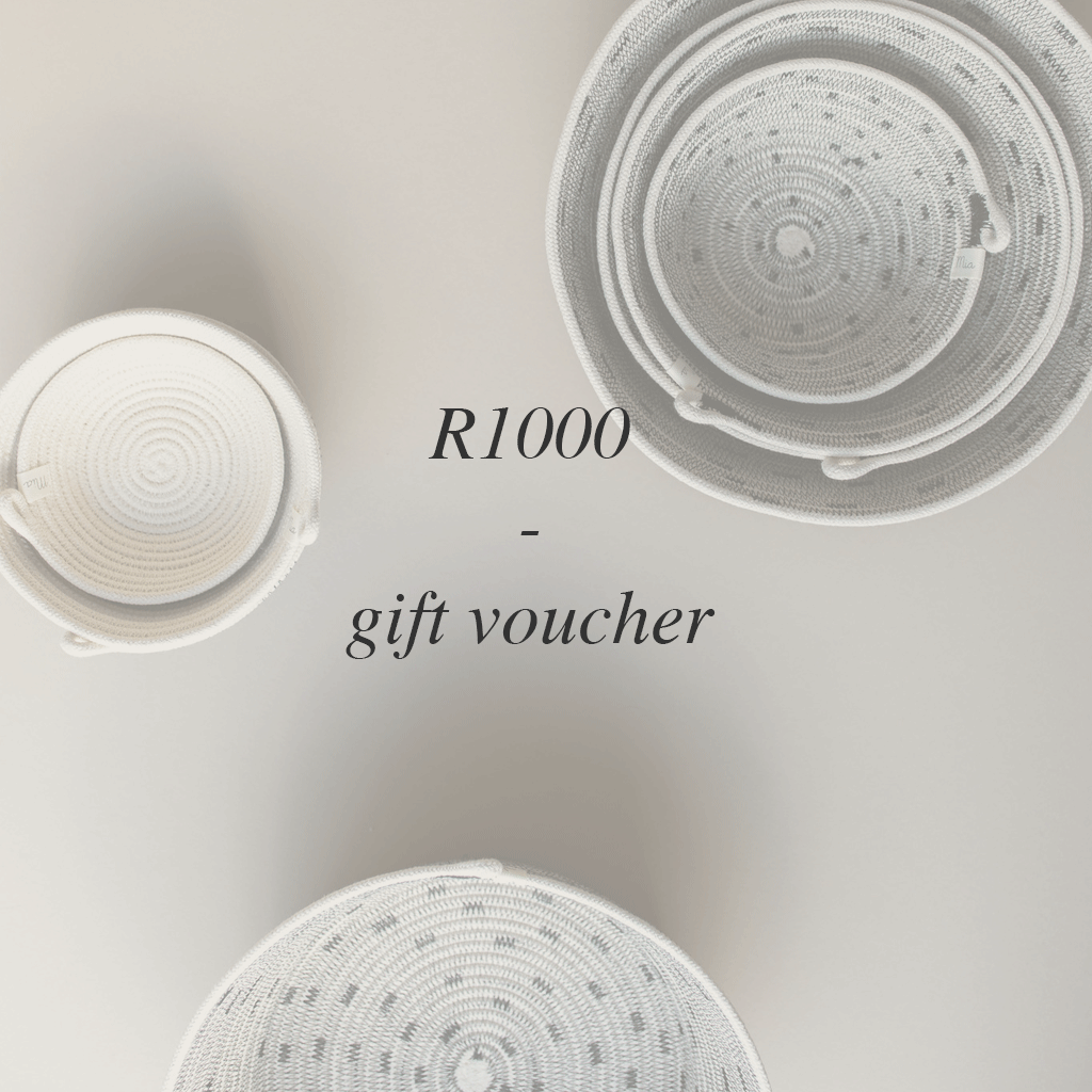 Spoil your loved ones with a Mia Mélange gift voucher. 