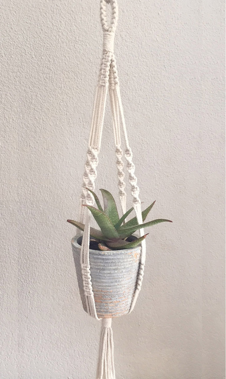 100% cotton rope or jute
