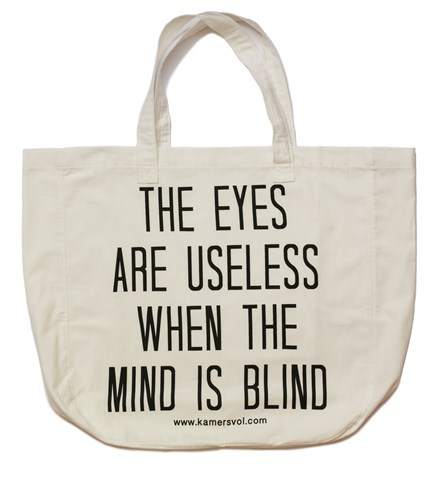 Eyes and Mind Inspirational Tote Bag - KAMERS