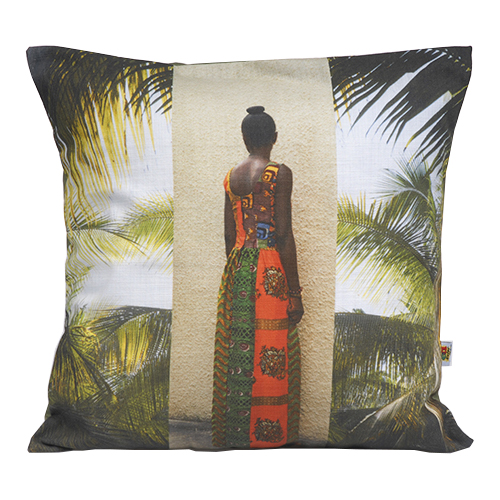 "Tropical ""Lady's Back"" Cushion"