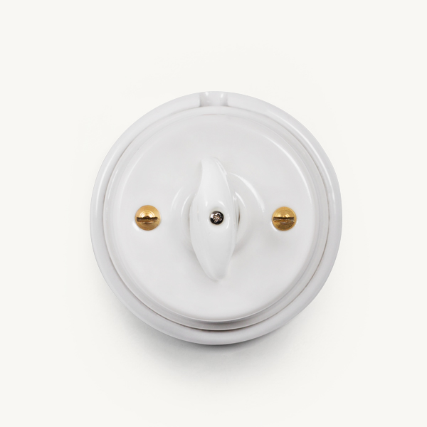 Napoleon Porcelain Wall Switch