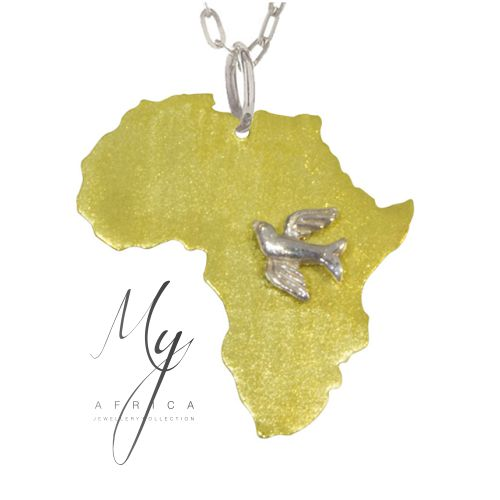 Peace for Africa Pendant