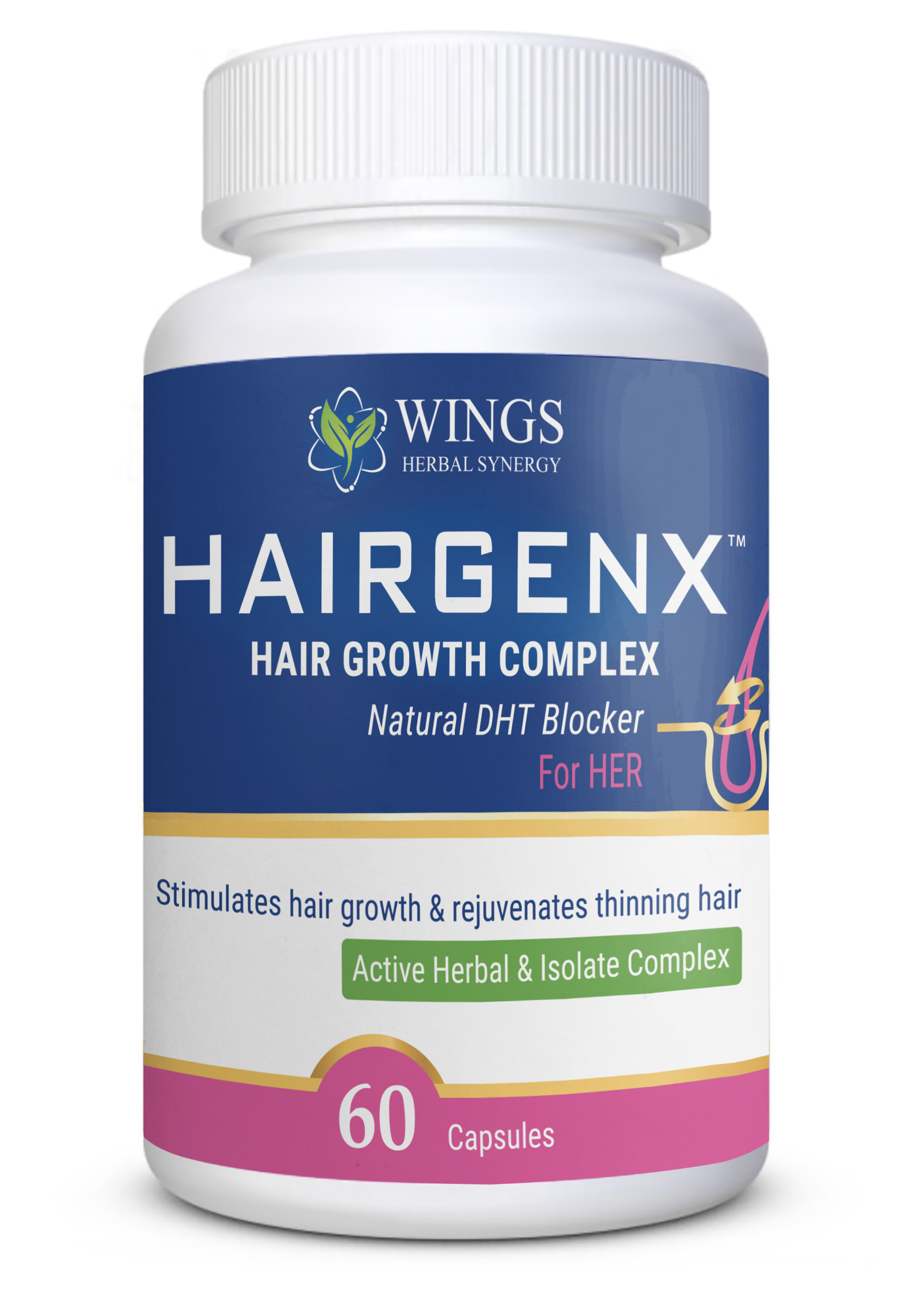Hairgenx for Women 60 caps
