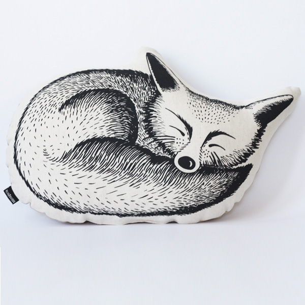 Fox is part of a menagerie of animal cushions for your home.