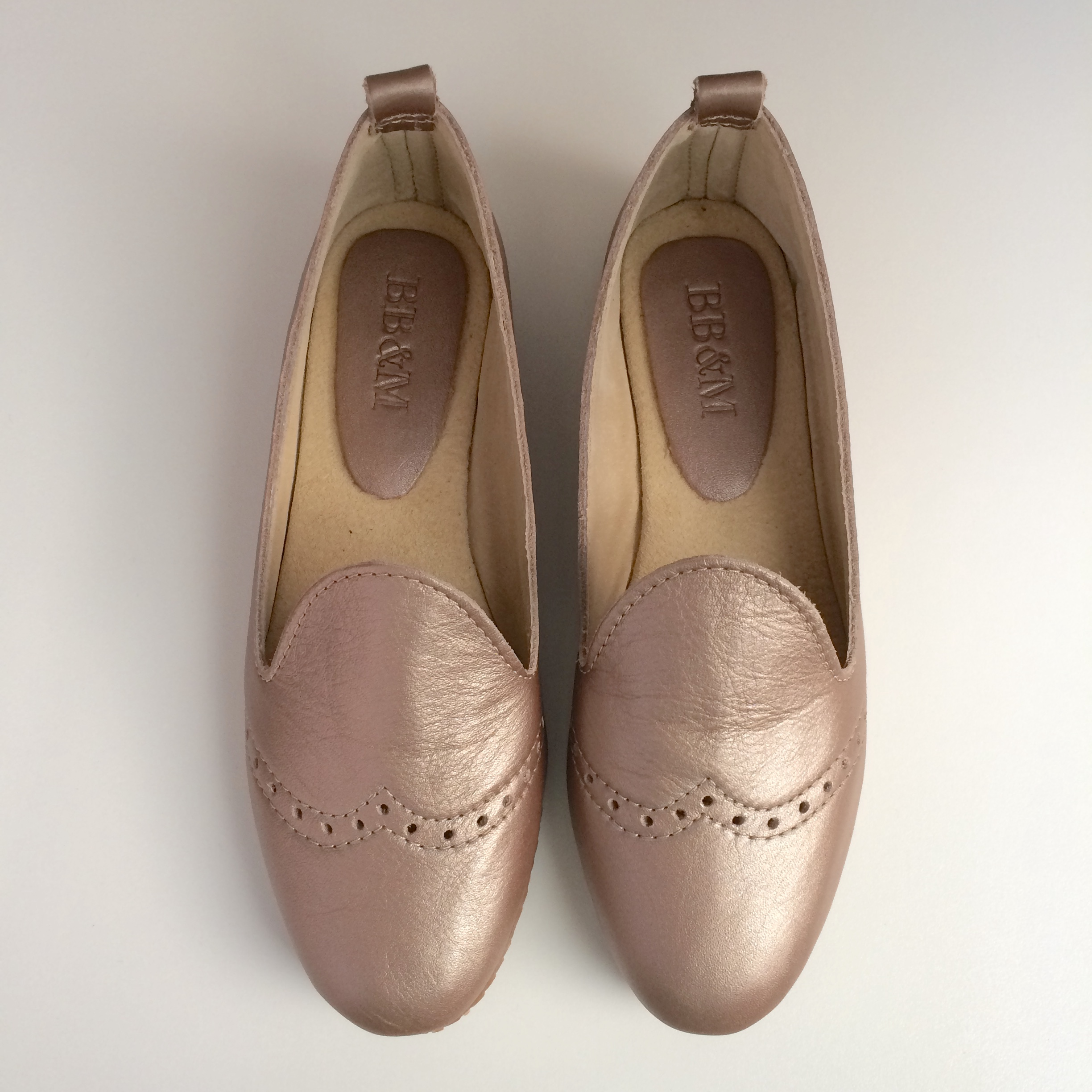 Ladies Rose Gold Loafer - LF1