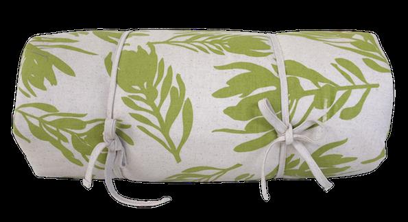 Picnic Blanket - Conebush (Olive on Natural)