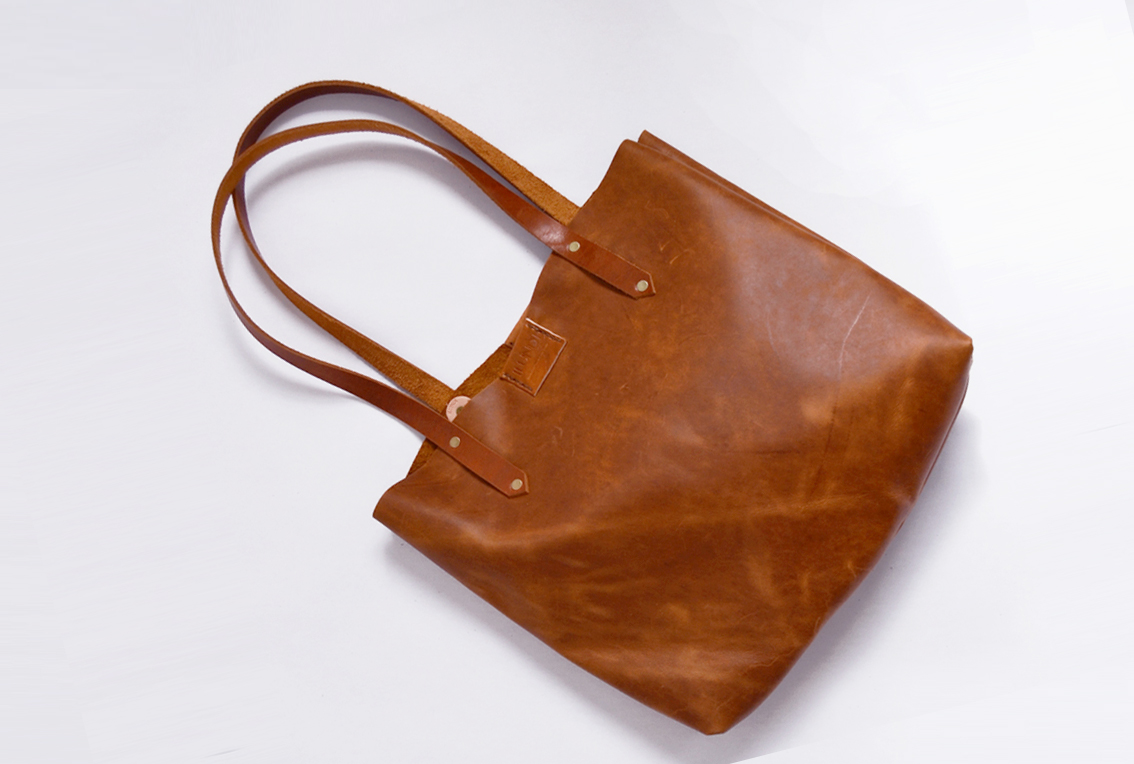 Soft Tote bag - oak