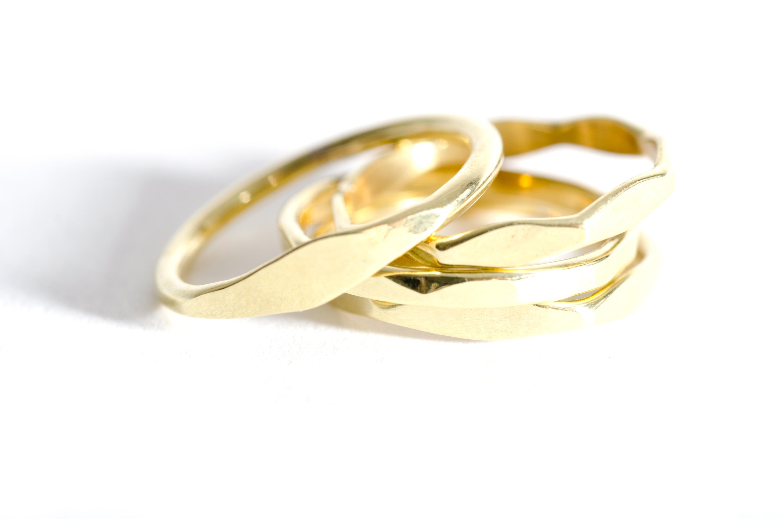 Brass Ring Stack