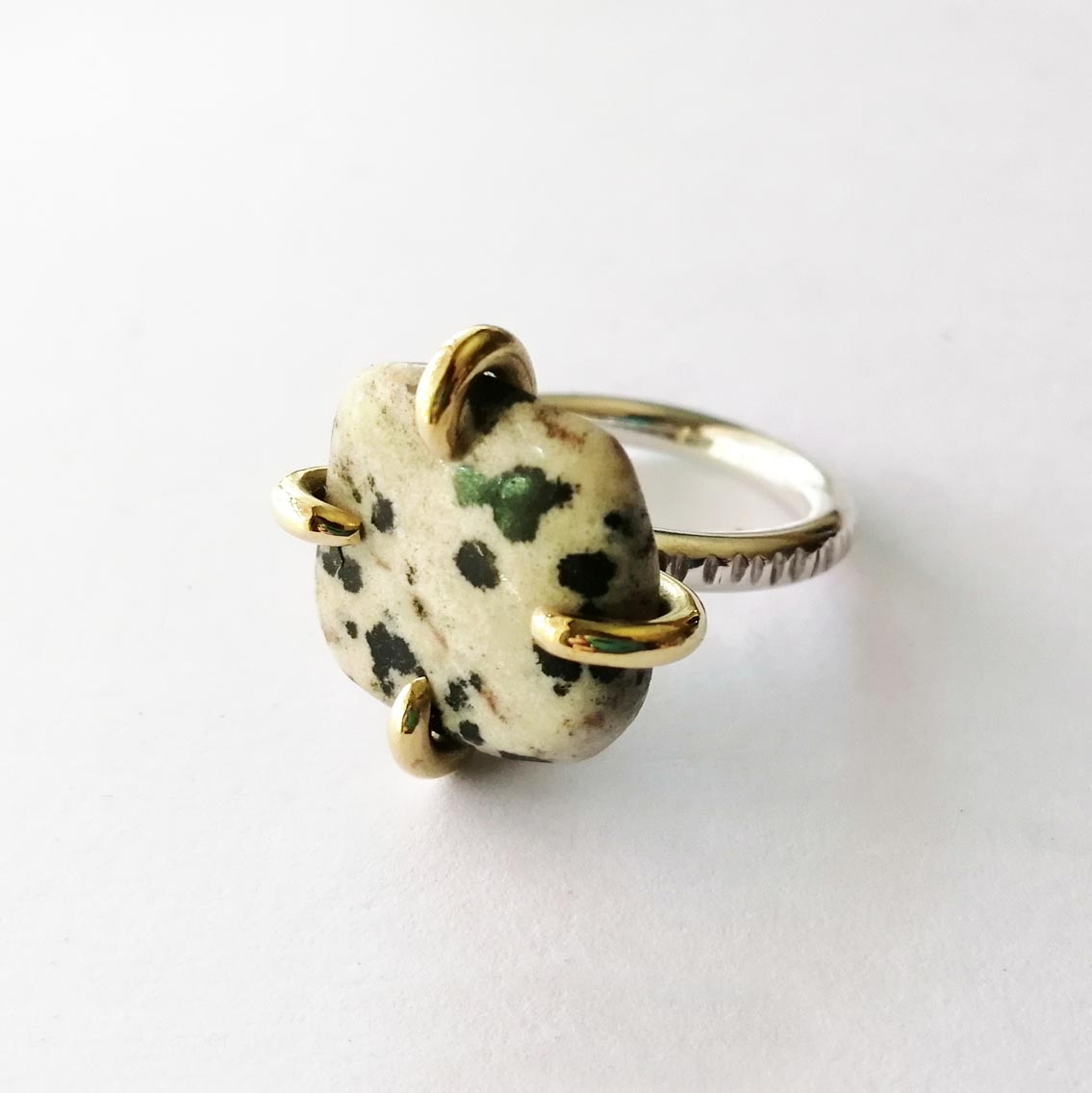 SUNSHINE STONE CLAW Ring