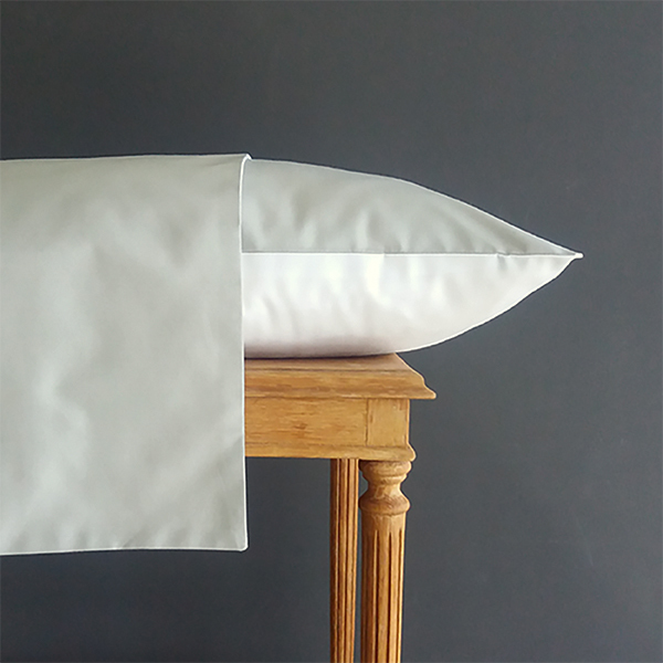 Signature Collection - Two Tone Pillowcases (2) - Oyster and White